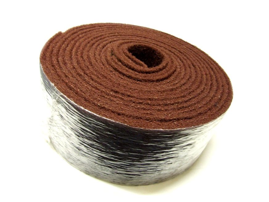 heritage abrasives ltd polishing mops abrasive belts polishing compoundsatin roll 150mm x. Black Bedroom Furniture Sets. Home Design Ideas