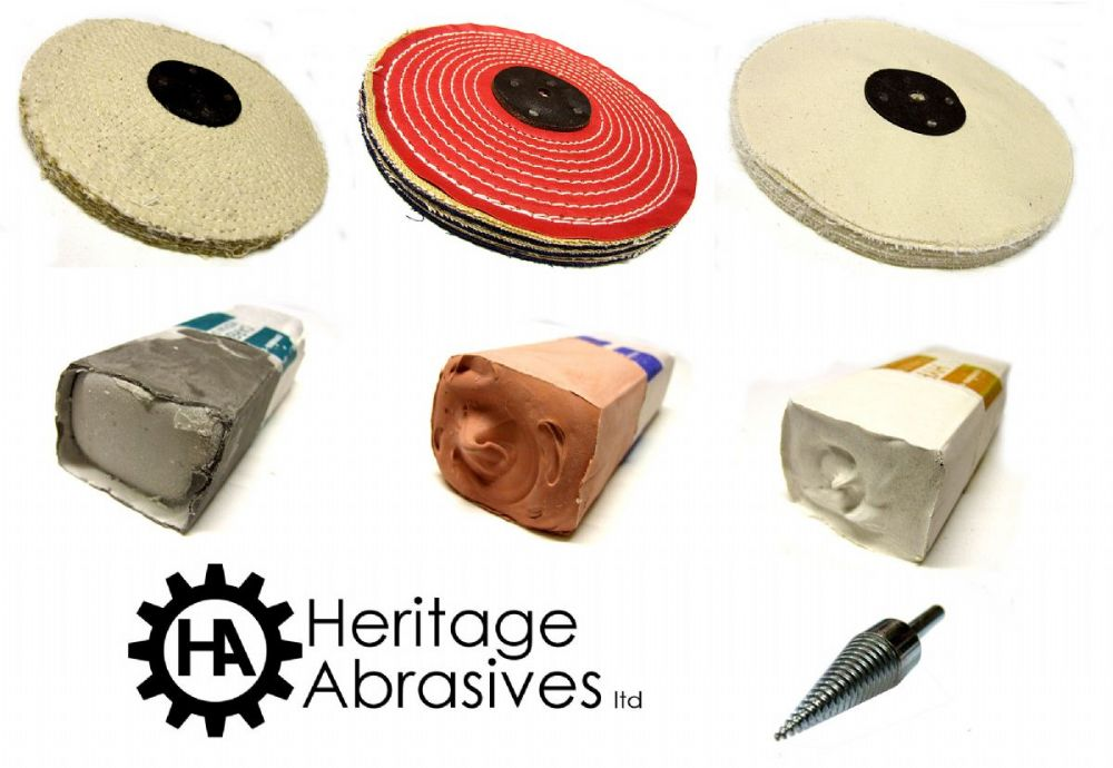 heritage abrasives ltd polishing mops abrasive belts polishing compoundhttp www. Black Bedroom Furniture Sets. Home Design Ideas