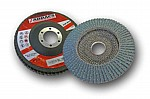 Abracs 60 grit Zirc Flap Disc 115mm (pack of 5)