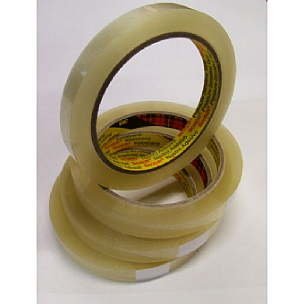 3M Clear Box Sealing Tape 12mm x 66m