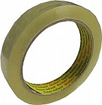 3M Clear Box Sealing Tape 19mm x 66m