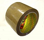3M Brown Box Sealing Tape 75mm x 132m