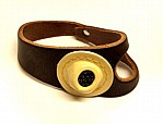 No 2 RH BROWN Sewing Palm Genuine Leather