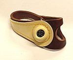 No 3 RH LIGHT BROWN Sewing Palm Genuine Leather