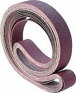 100mm x 3450mm  Aluminium Oxide Belt (choice of pack qty's & grits)