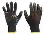 GLOVES - BLACK NITRILE COATED (Pack of 12)