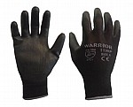 GLOVES - BLACK PU (Pack of 12)