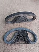 13mm x 451mm SILICON CARBIDE BELT (CHOICE OF PACK QTY'S & GRITS)