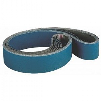 100mm x 2000mm Zirconia Abrasive Belt (choice of pack qty's & grits)