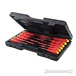 Insulated Soft-Grip Screwdriver Set 11pc
