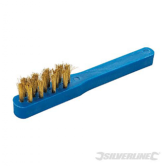 SILVERLINE SPARK PLUG BRUSH