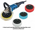 1200W Sander Polisher 7 PC Kit